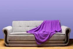 60 pieces of Yacht & Smith 50x60 Fleece Blanket, Soft Warm Compact Travel Blanket, PURPLE