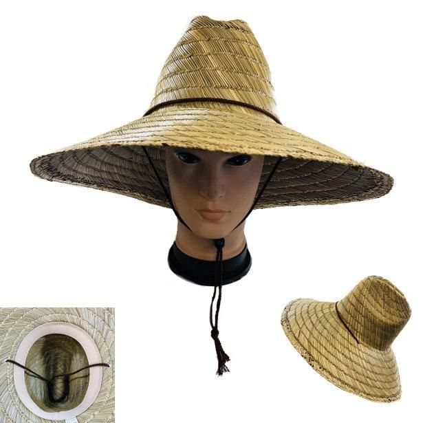 24 pieces of Straw Hat With Large Brim
