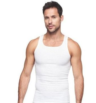 72 pieces of Mens Cotton A Shirt Undershirt Solid White Assorted Sizes