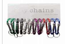100 pieces of Keychain Metal Clip