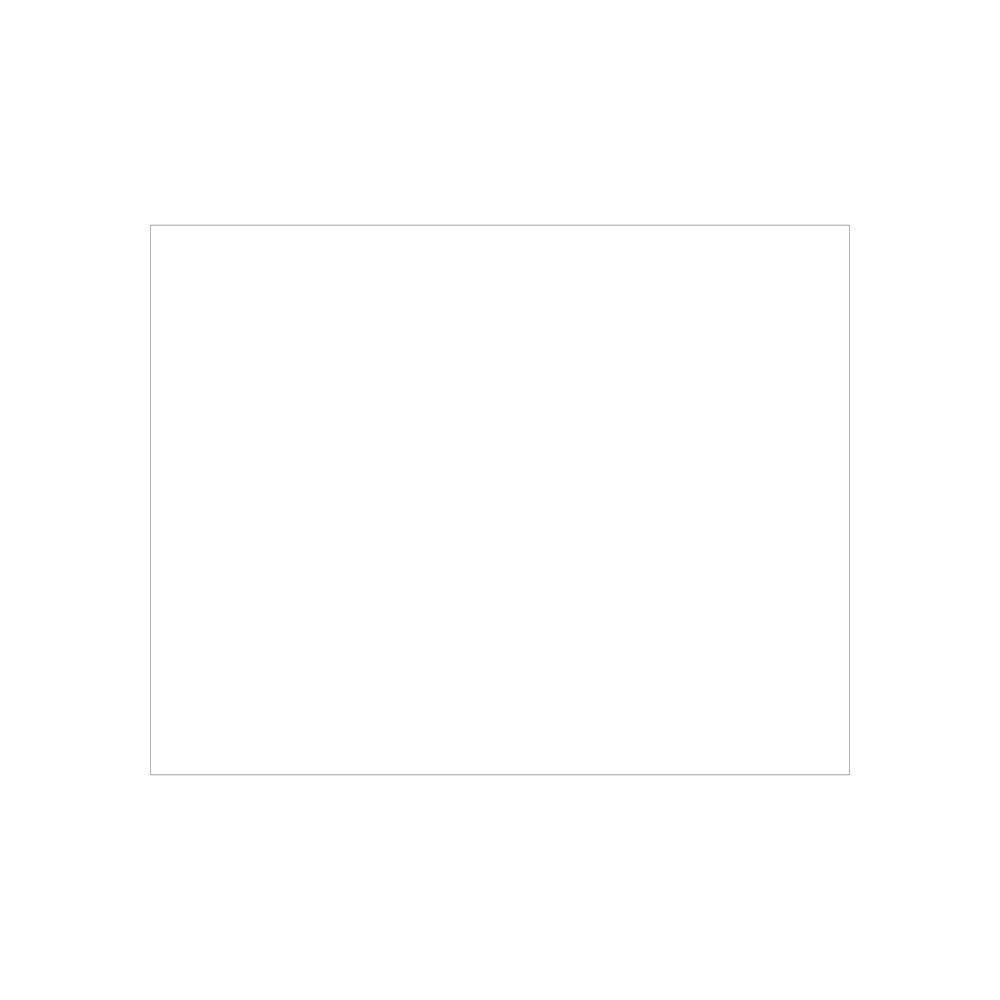 24x36 white poster board