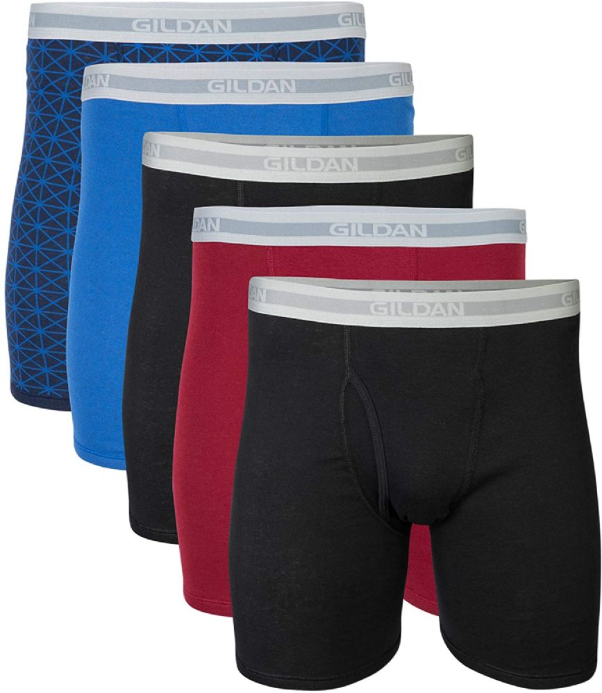 432 pieces of Mens Imperfect Wholesale Gildan Boxer Briefs, Assorted Sizes And Colors