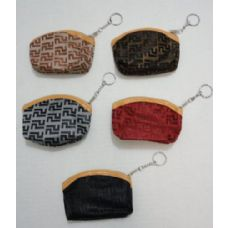 36 Pack of Zippered Coin Purse [Lines]