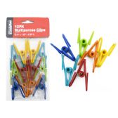 96 Pack of Clips Multipurpose 12pc