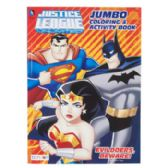 72 Pack Of Coloring Book Justice League 96 Pages In Display Box